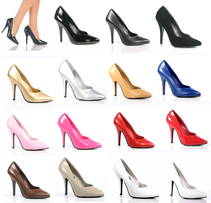 """Seduce"" - Women's Classic Patent Pumps/Shoes"