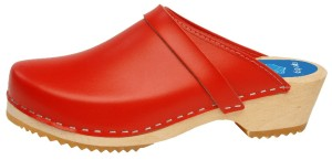 Cape Clog Holiday Red
